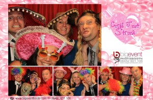 photo booth pink theme prints